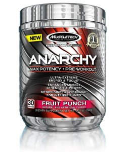MuscleTech Anarchy 30 Servings Fruit Punch
