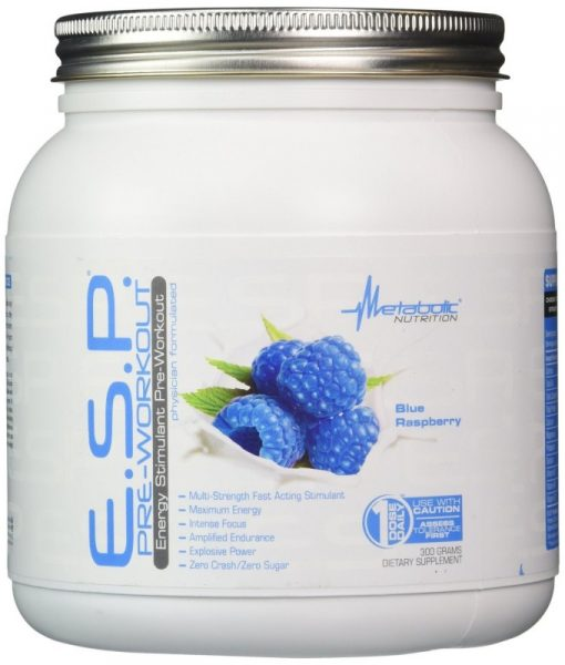 Metabolic Nutrition E.S.P. 90 Servings Blue Raspberry