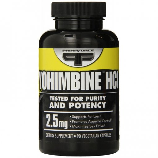 PrimaForce Yohimbine Hcl 90 Count