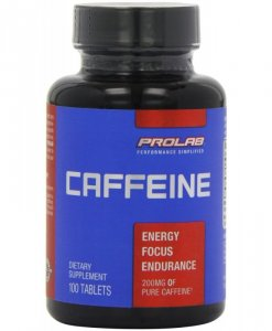Prolab Caffeine 200 Mg 100 Tablets