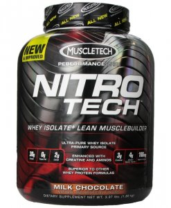 Muscletech Nitro Tech Performance Series 3.97 Lbs Milk Chocolate