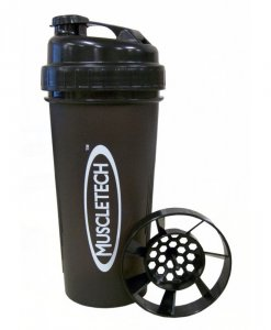 MuscleTech Shaker Cup 24 Oz Black