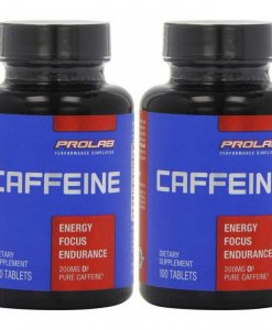 Prolab Caffeine 200 Mg 100 Tablets Pack of 2