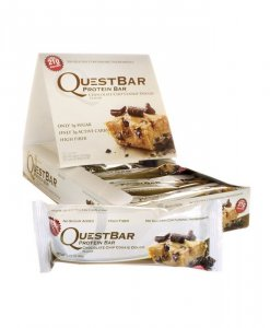 Quest Nutrition Quest Bar 12 Bars Chocolate Chip Cookie Dough
