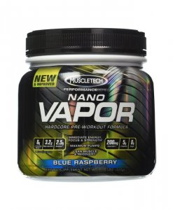 MuscleTech Nano Vapor Performance Series 1.23 Lbs Blue Raspberry