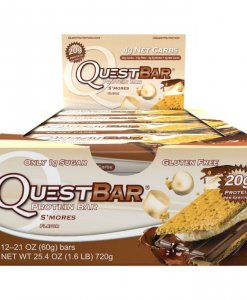 Quest Nutrition Quest Bar 12 Bars S'mores