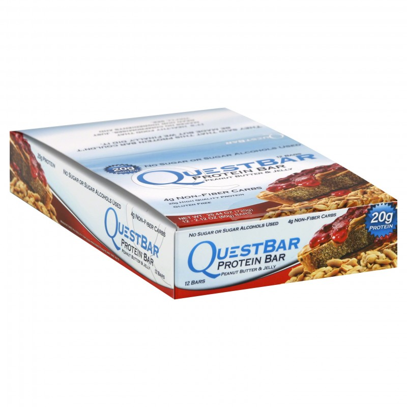 Quest Nutrition Quest Bar 12 Bars Peanut Butter & Jelly