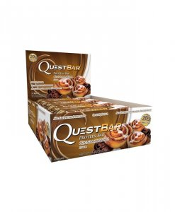 Quest Nutrition Quest Bar 12 Bars Cinnamon Roll