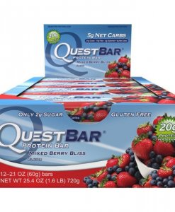 Quest Nutrition Quest Bar 12 Bars Mixed Berry Bliss