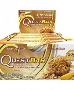 Quest Nutrition Quest Bar 12 Bars Banana Nut Muffin