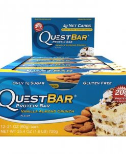 Quest Nutrition Quest Bar 12 Bars Vanilla Almond Crunch