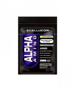Cellucor Alpha Amino BCAA Supplement, Lemon Lime, 5 Count