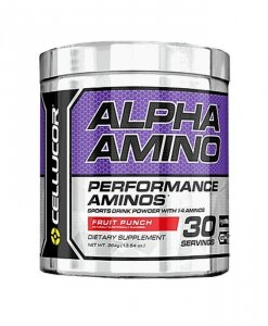 Cellucor Alpha Amino 30 Servings Fruit Punch