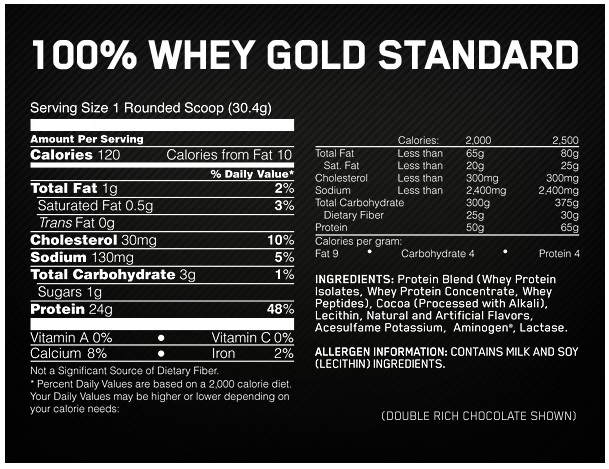Optimum Nutrition 100% Whey Gold Standard ...