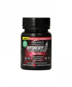 Travel Size Hydroxycut Hardcore Elite 12 Caps