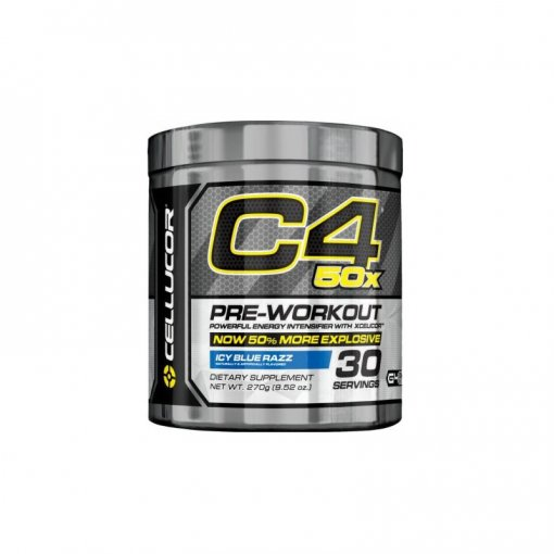 Cellucor C4 50x 30 Servings Icy Blue Razz