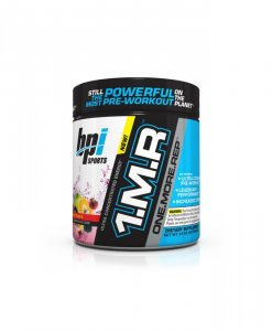 BPI Sports 1MR One More Rep Ultra Concentrated Energy Supplement, Fruit Punch Supplement - 8.5 Ounce