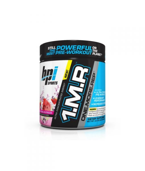 BPI Sports 1MR One More Rep Ultra Concentrated Energy Supplement, Watermelon Freeze Supplement - 8.5 Ounce