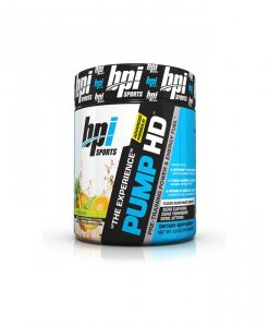 BPI Sports Pump HD Pre-Training Power and Energy Fuel Powder, Citrus Dew - 8.8 Ounce