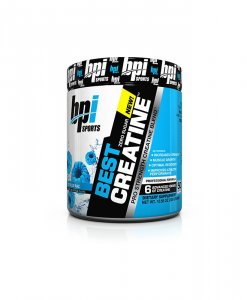 BPI Sports Best Creatine Powder, Icy Blue Raz - 10.58 Ounce