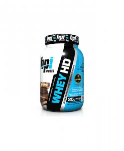 BPI Sports Whey-HD Ultra Premium Whey Protein Powder, Chocolate Cookie - 2 Pound