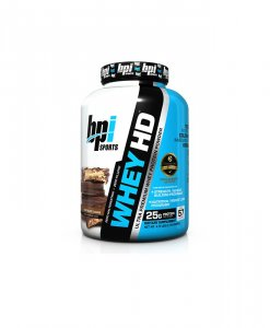 BPI Sports Whey-HD Ultra Premium Whey Protein Powder, Chocolate Cookie - 4.75 Pound