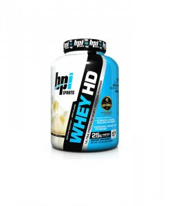 BPI Sports Whey-HD Ultra Premium Whey Protein Powder, Banana Marshmallow Pie - 4.98 Pound