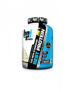 BPI Sports Best Protein, Vanilla Swirl - 5 Pound