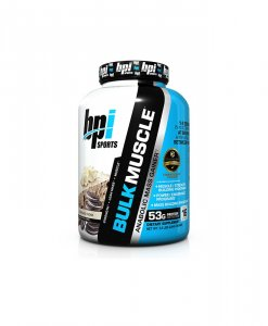 BPI Sports Bulk Muscle Protein Powder, Cookies and Cream - 5.8 Pound