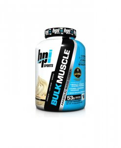 BPI Sports Bulk Muscle Protein Powder, Whipped Vanilla - 5.8 Pound