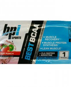BPI Sports Best BCAA Powder, Fruit Punch - Single Serving